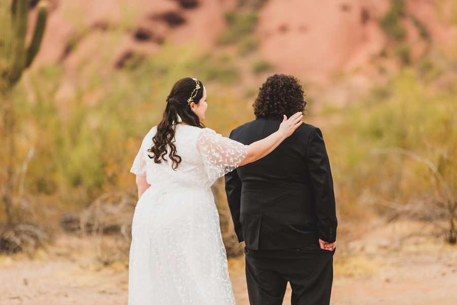 Shawna and Jason: Desert Botanical Garden Elopement