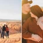 Shelby and Corde: Horseshoe Bend AZ Engagement