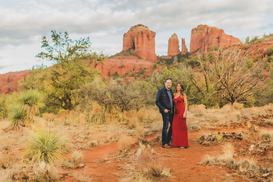 Kimber and Robb: Red Rock Arizona Portraits