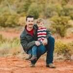 Roederer Family: Sedona Flagstaff Newborn Photographer