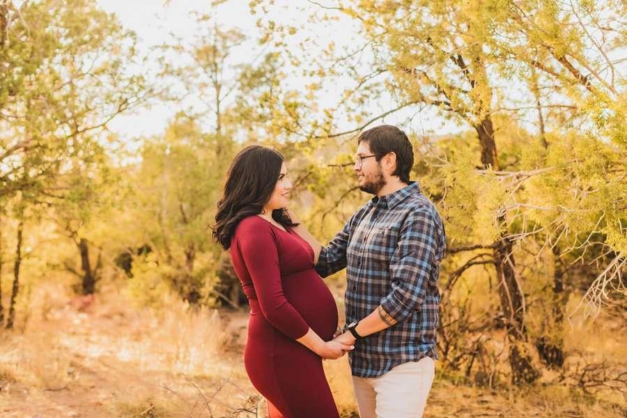 Stephanie and Mike: Sedona Arizona Family Photography desert
