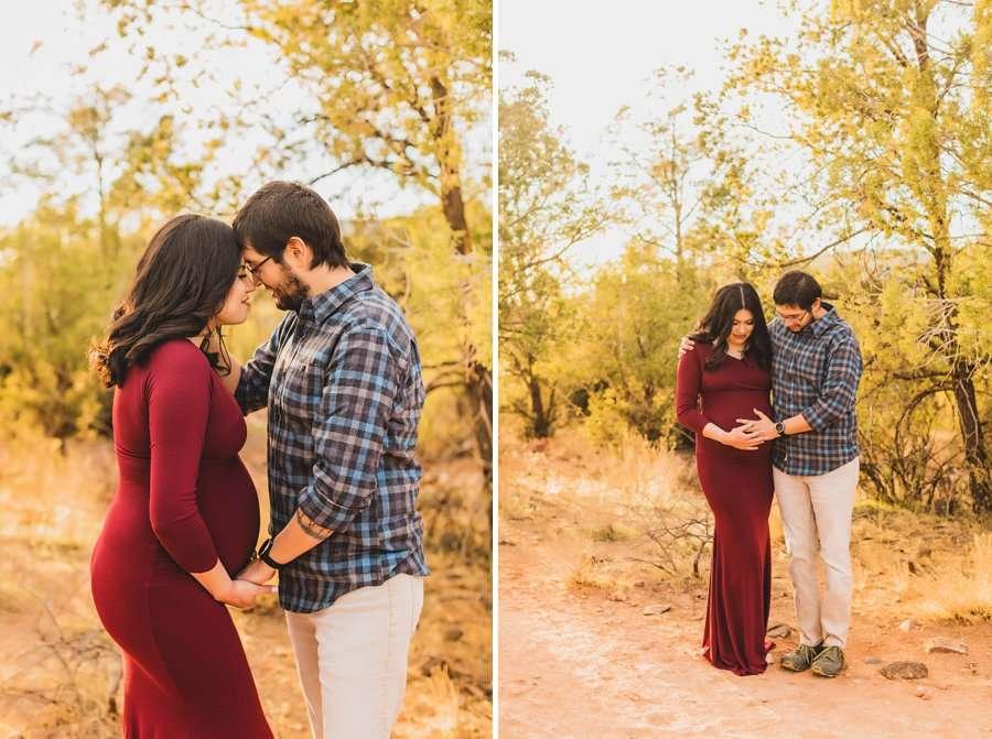 Stephanie and Mike: Sedona Arizona Family Photography