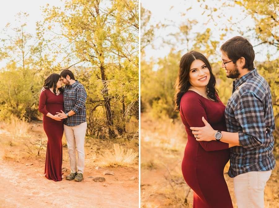 Stephanie and Mike: Sedona Arizona Family Photography in love