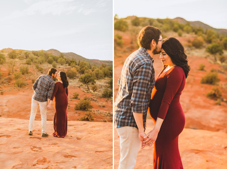 Stephanie and Mike: Sedona Arizona Family Photography love