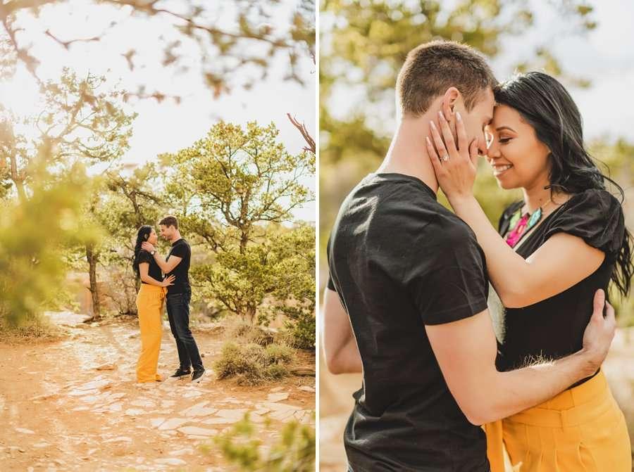 Cristina and Cody: Portrait Photography Northern Arizona national park