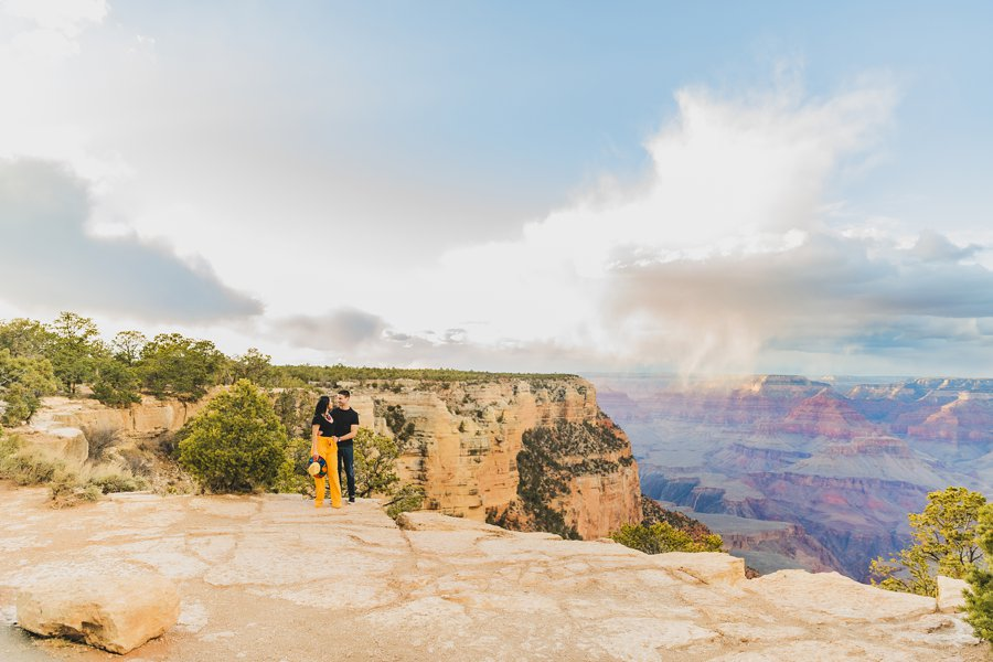 Cristina and Cody: Portrait Photography Northern Arizona large open landscape