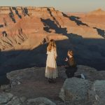 Rachel and Tom: Proposal Session Grand Canyon