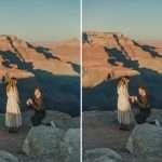 Northern Arizona National Park Engagement: Rachel and Tom