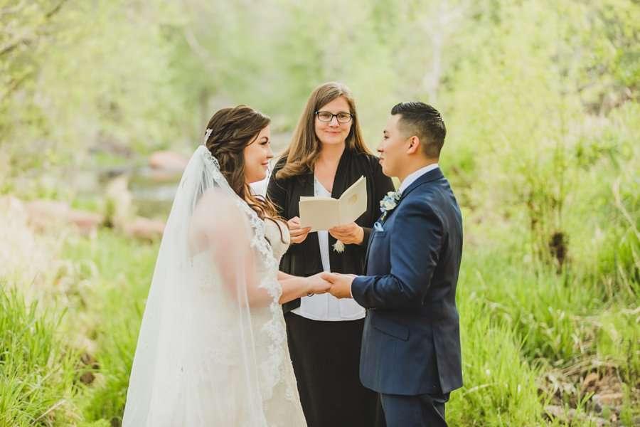 Bailey and Josh: Arizona Creek Wedding Photography 7