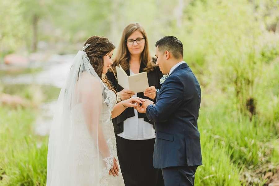 Bailey and Josh: Arizona Creek Wedding Photography 11