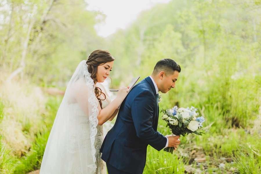 Bailey and Josh: Arizona Creek Wedding Photography 13