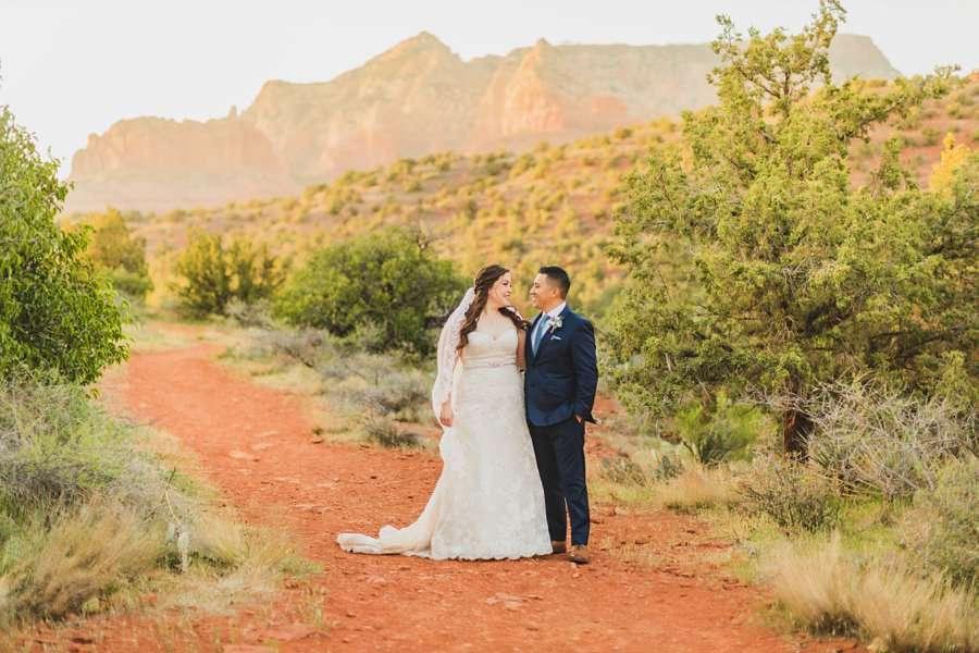 Bailey and Josh: Arizona Creek Wedding Photography 14
