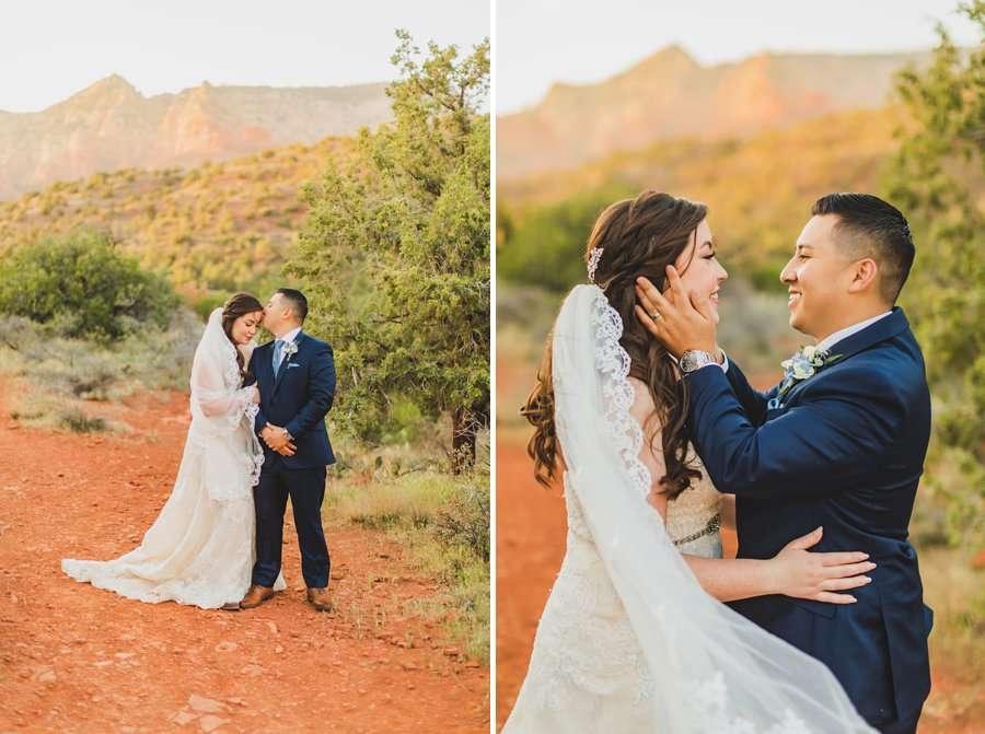 Bailey and Josh: Arizona Red Rock Wedding Photographers 9