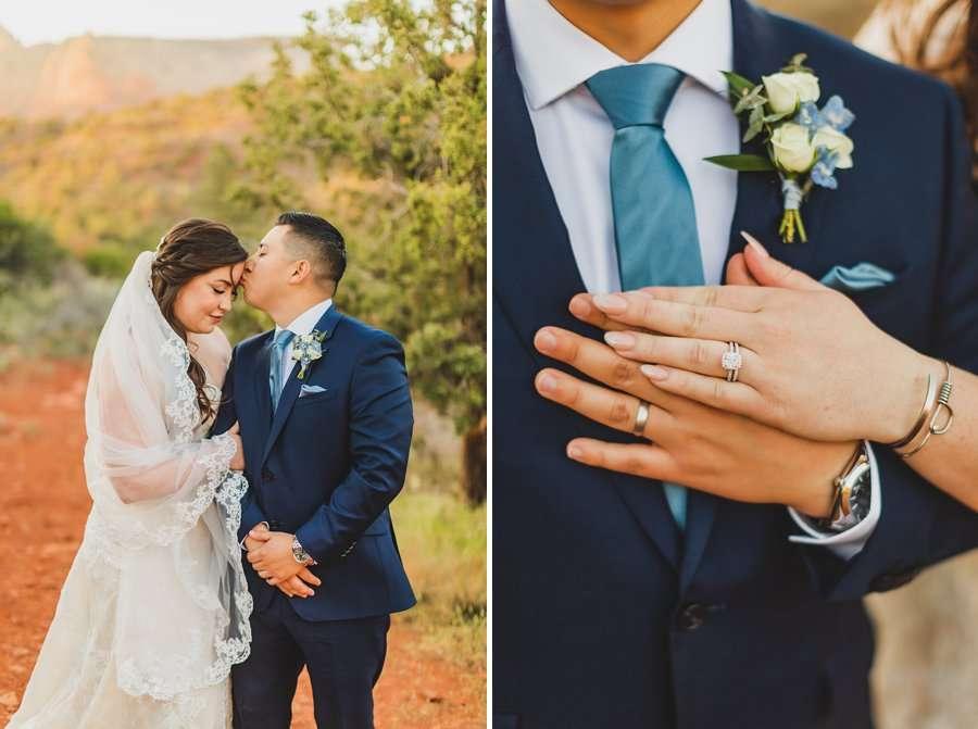 Bailey and Josh: Arizona Red Rock Wedding Photographers 7