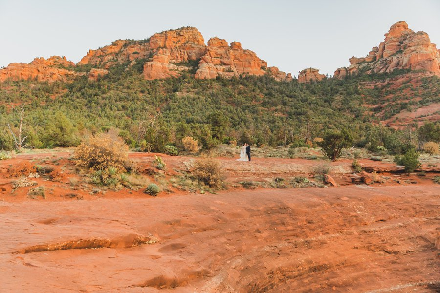 Bailey and Josh: Arizona Red Rock Wedding Photographers 6
