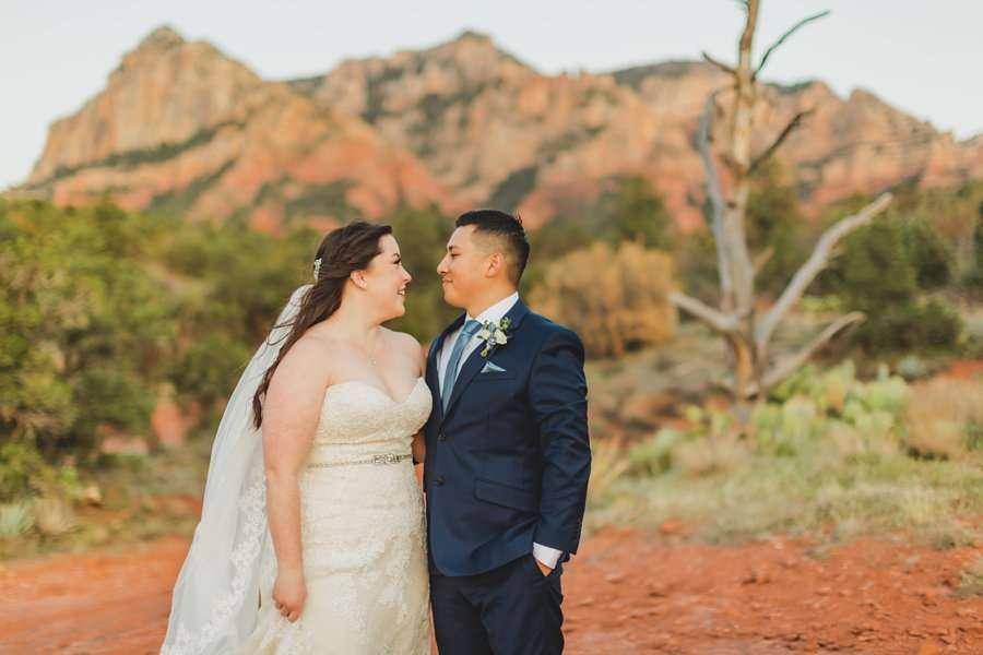 Bailey and Josh: Arizona Red Rock Wedding Photographers 5