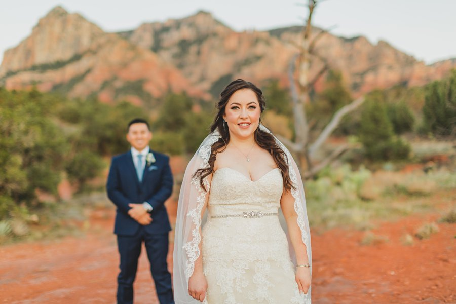 Bailey and Josh: Arizona Red Rock Wedding Photographers 3