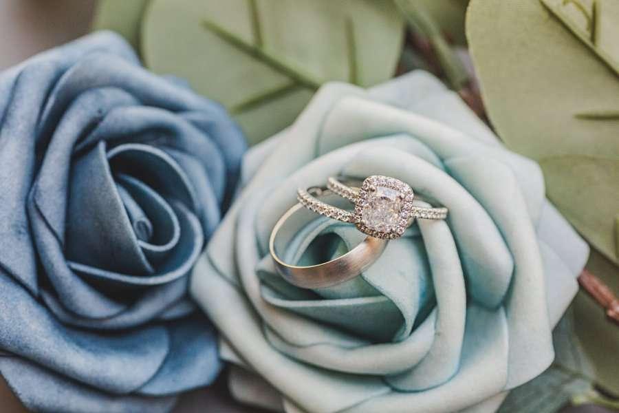 Bailey and Josh: Creekside Inn Sedona Elopement wedding ring