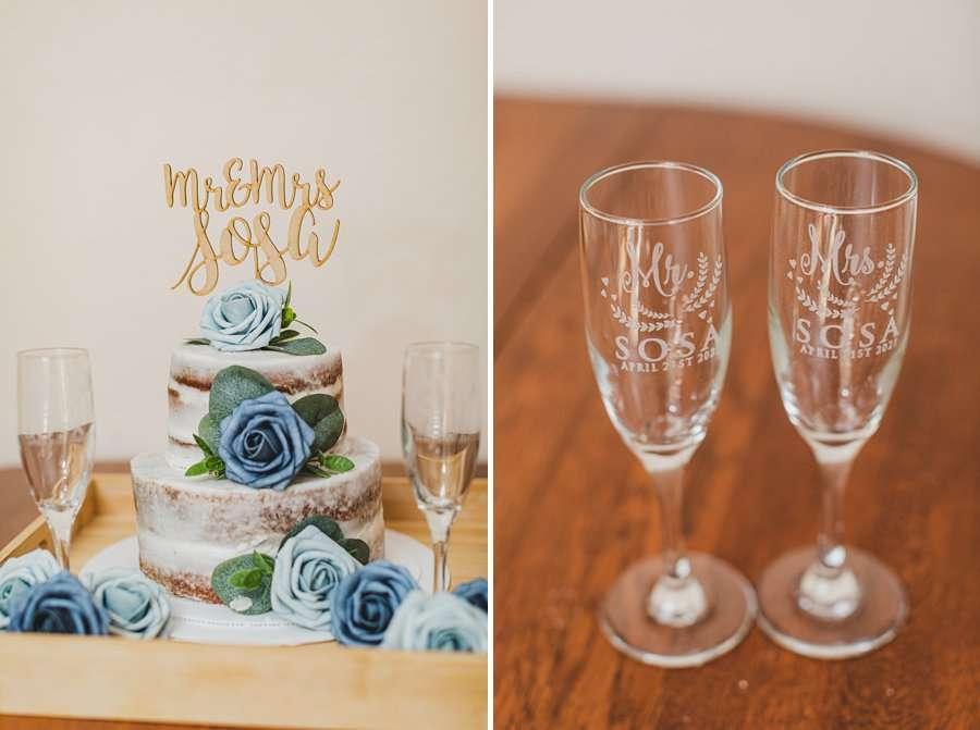 Bailey and Josh: Creekside Inn Sedona Elopement bridal details