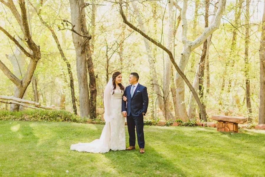 Bailey and Josh: Arizona Creek Wedding Photography