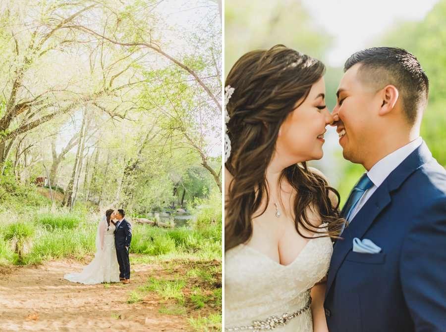 Bailey and Josh: Arizona Creek Wedding Photography 3