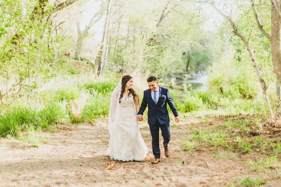 Bailey and Josh: Arizona Creek Wedding Photography 2