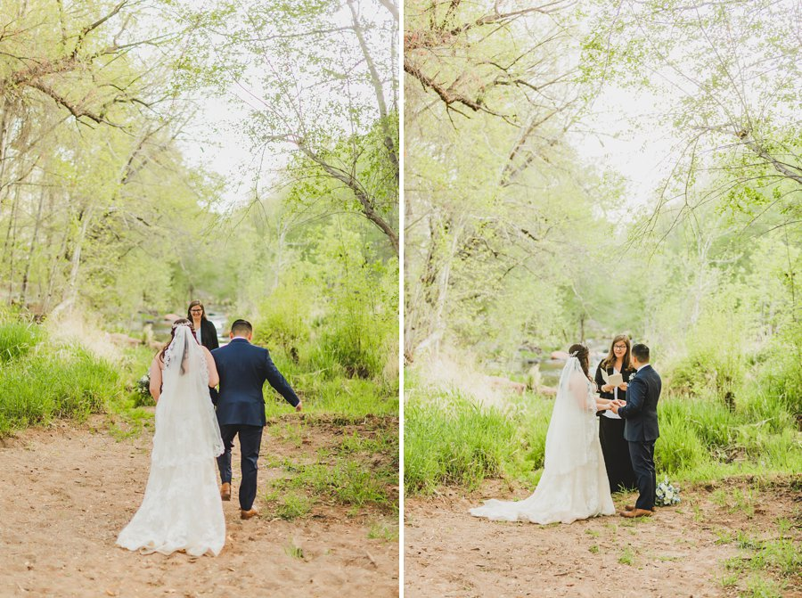 Bailey and Josh: Arizona Creek Wedding Photography 4