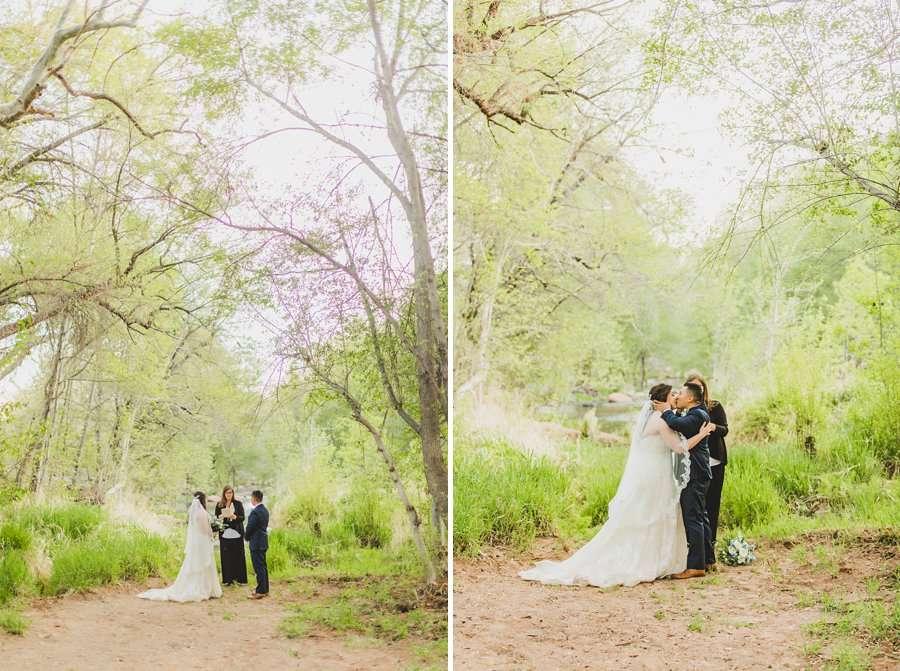 Bailey and Josh: Arizona Creek Wedding Photography 12