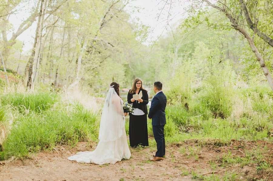 Bailey and Josh: Arizona Creek Wedding Photography 8